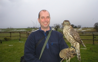 Introductory day to falconry